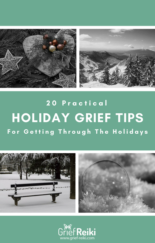 Holiday Grief Tips eBook